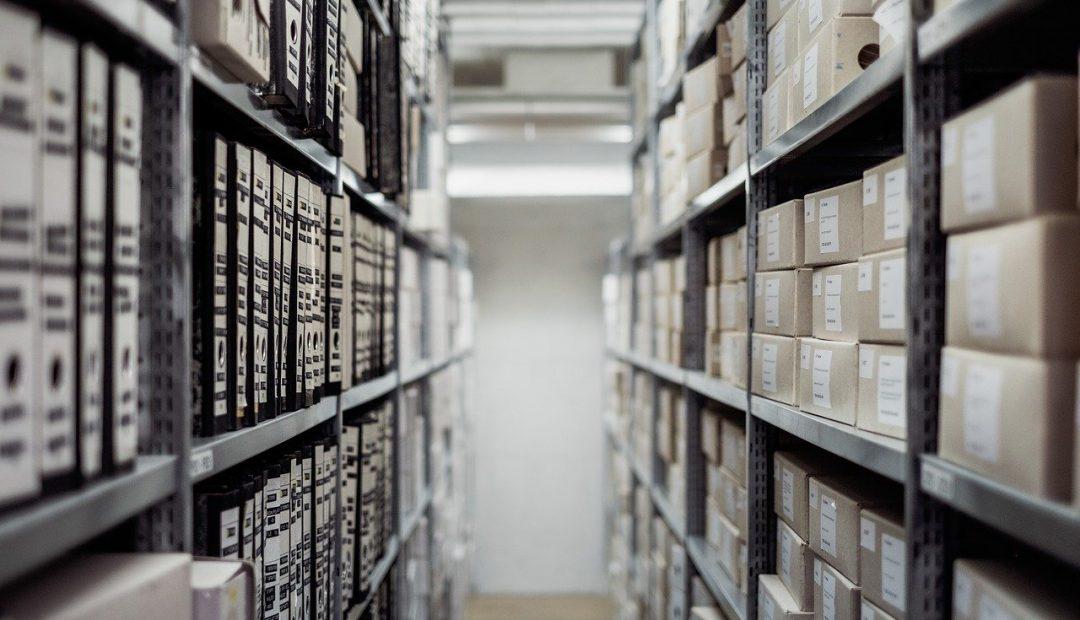 Des cartons adaptés aux archives